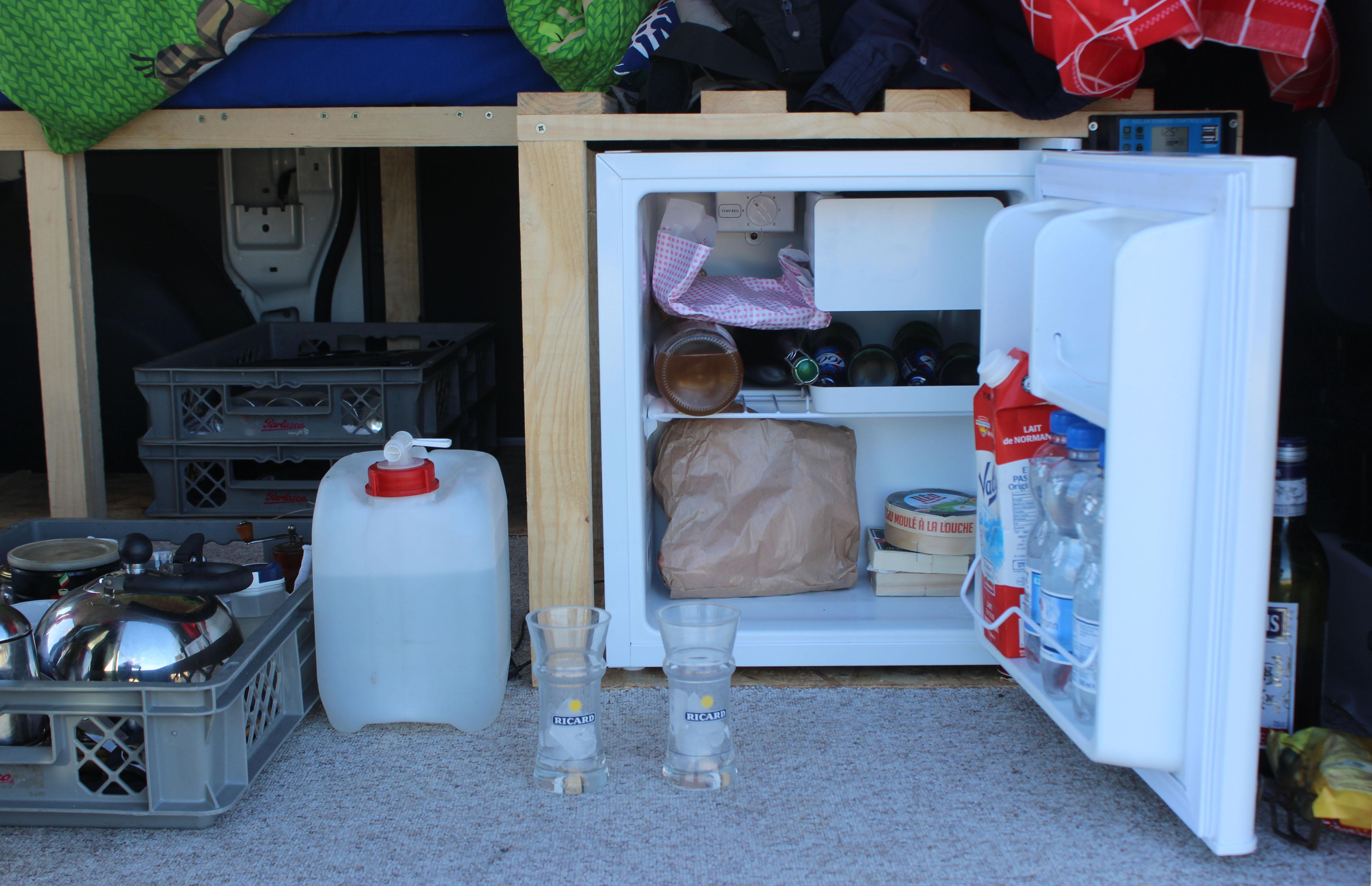 Der neue Kühlschrank ...