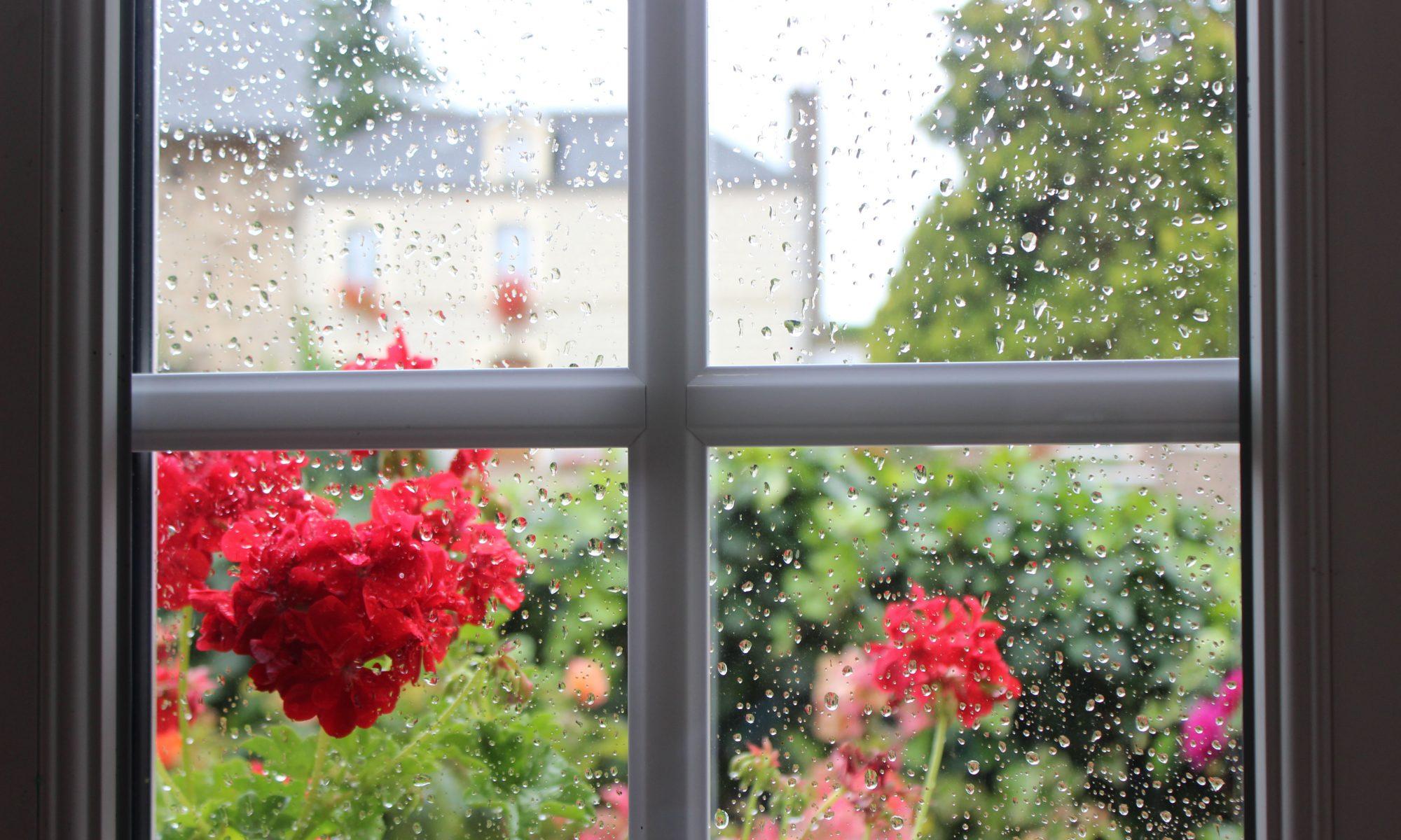 Regen im Cotentin