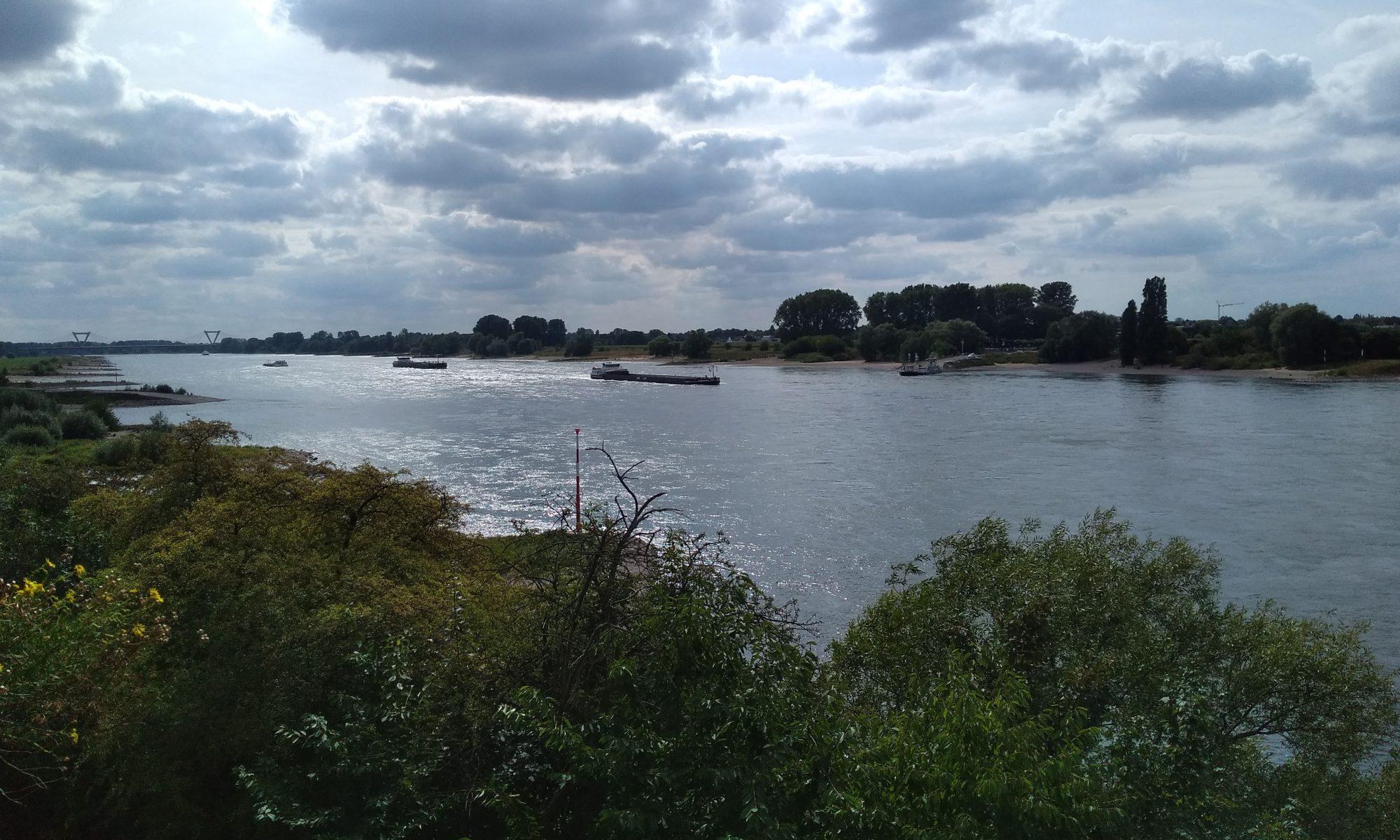 Der Rhein bei Kaiserswerth